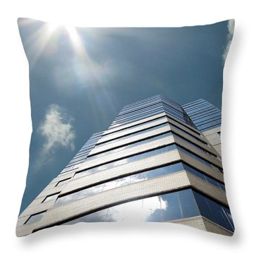 Jewish Hospital-louisville Ky Throw Pillow