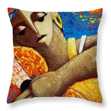 Jibara Y Sol Throw Pillow