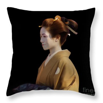 Jidai Matsuri IIi Throw Pillow