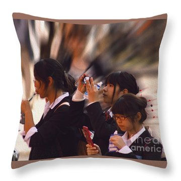 Jidai Matsuri Vii Throw Pillow