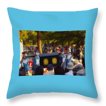 Jidai Matsuri Xxiii Throw Pillow
