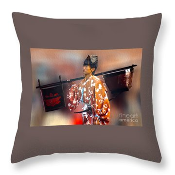 Jidai Matsuri Xxv Throw Pillow