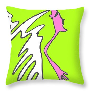 Jiggy Throw Pillow