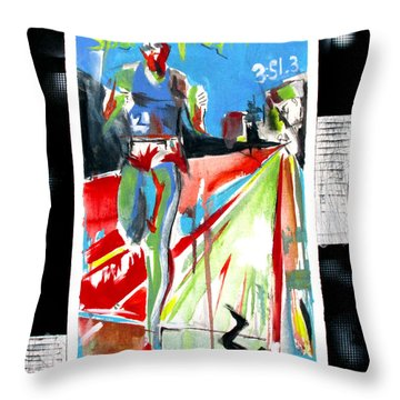 Jim Ryan Throw Pillow