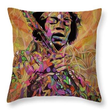 Jimi Throw Pillow