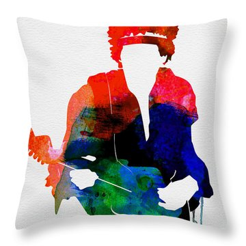 Jimi Hendrix Throw Pillows