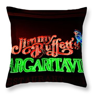 Jimmy Buffett's Margaritaville Throw Pillow