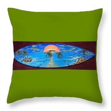Jimmy Bumps Dream Throw Pillow