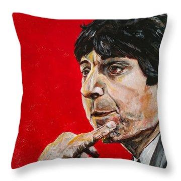 Jimmy V Throw Pillow