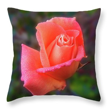 Throw Pillow featuring the photograph Joanne by Mark Blauhoefer