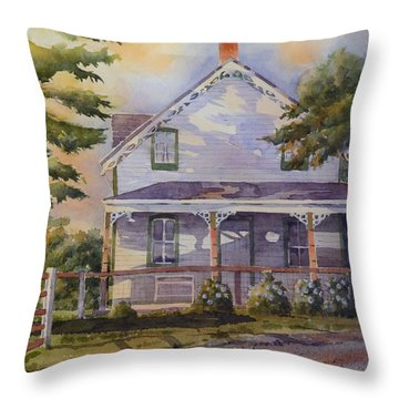 Joanne's House Throw Pillow by David Gilmore
