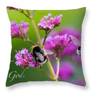 Job 12 10 Throw Pillow