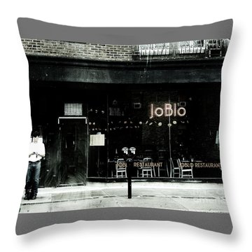Joblo Throw Pillow