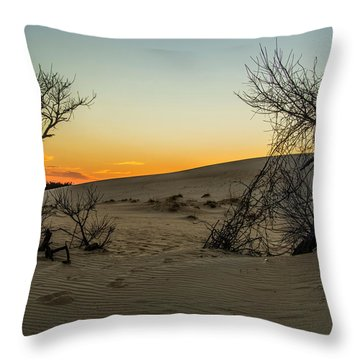 Jockey's Ridge View Throw Pillow