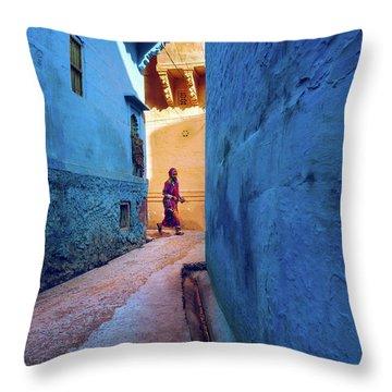 Jodhpur Colors Throw Pillow