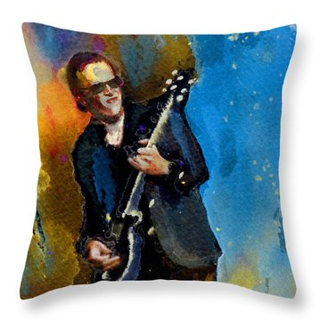 Joe Bonamassa 03 Bis Throw Pillow
