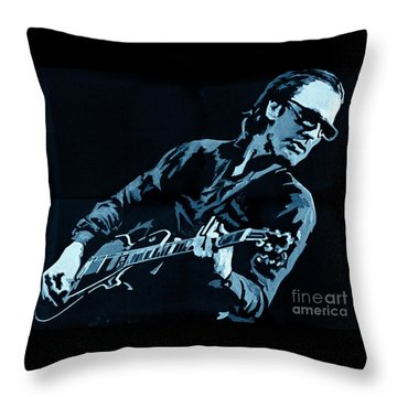 Joe Bonamassa - Different Shades Of Blue Throw Pillow