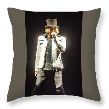 Joe Elliott Throw Pillow