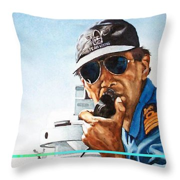Joe Johnson Throw Pillow