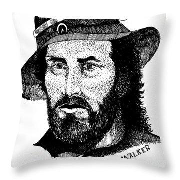 Joe R. Walker Painting Throw Pillow
