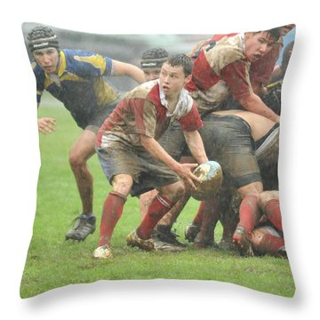 Throw Pillow featuring the photograph joe by Rod Wiens