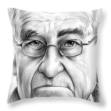 Joe Schlesinger Throw Pillow by Greg Joens