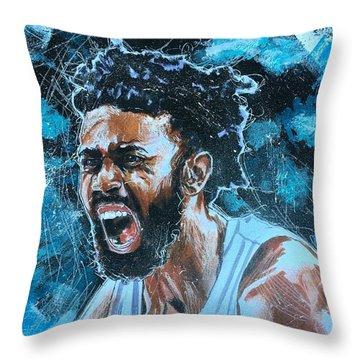 Joel Berry II Throw Pillow
