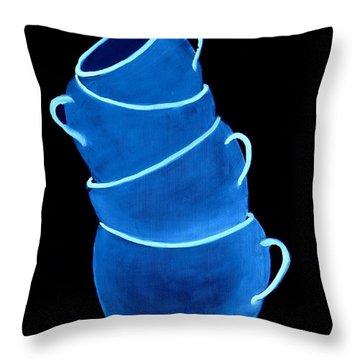 Joe's Lefthanded Cup Throw Pillow