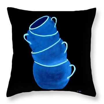 Joe's Lefthanded Cup Throw Pillow