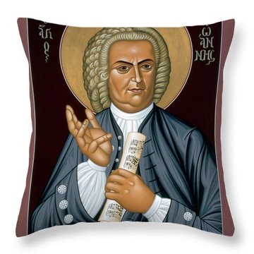 Johann Sebastian Bach - Rljsb Throw Pillow