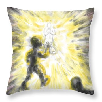John 1 V5 Throw Pillow