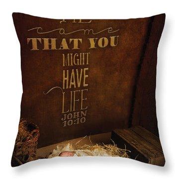 John 10 Throw Pillow