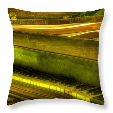 John Broadwood And Sons Piano Throw Pillow by Semmick Photo