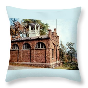 John Browns Fort  Throw Pillow by Ruth  Housley