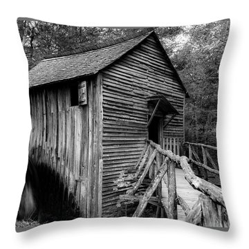 John Cable Grist Mill I Throw Pillow