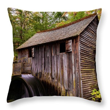 John Cable Grist Mill II Throw Pillow