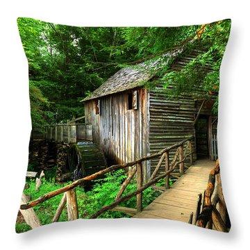 John Cable Mill 2 Throw Pillow