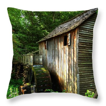 John Cable Mill 3 Throw Pillow