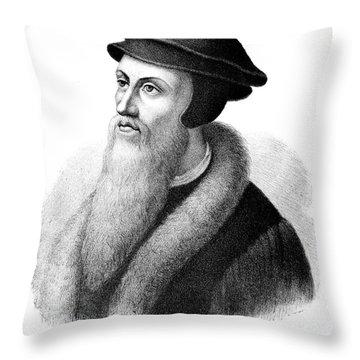John Calvin Throw Pillow