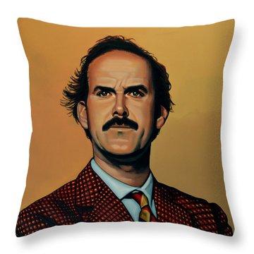 John Cleese Throw Pillow