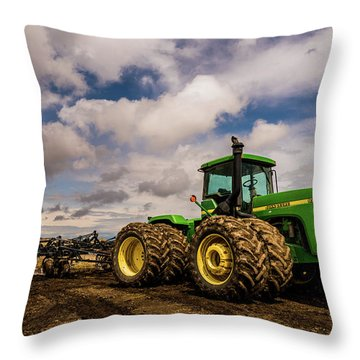 John Deere 9200 Throw Pillow