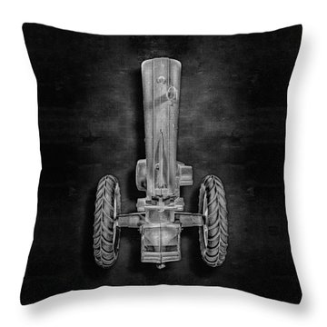 John Deere Top Bw Throw Pillow by YoPedro