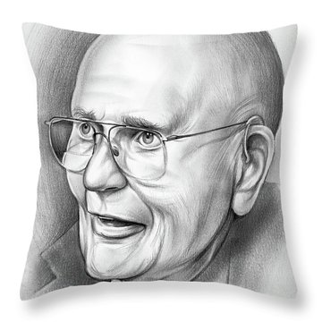 John Dingell Throw Pillow