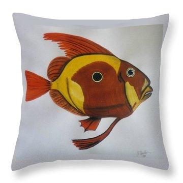 John Dory Throw Pillow