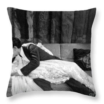 John Gilbert (1895-1936) Throw Pillow by Granger