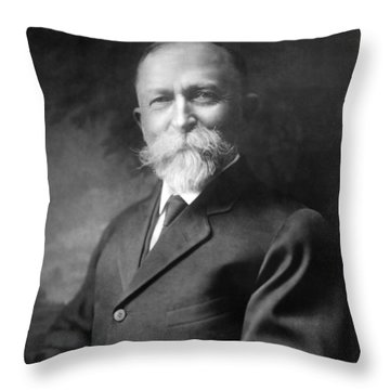 Battle Creek Sanitarium Throw Pillows