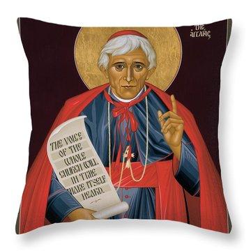 Bl. John Henry Newman - Rljhn Throw Pillow