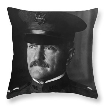 John J. Pershing Throw Pillow by War Is Hell Store