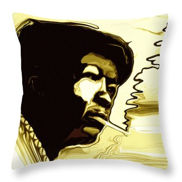 Rhythm Throw Pillows