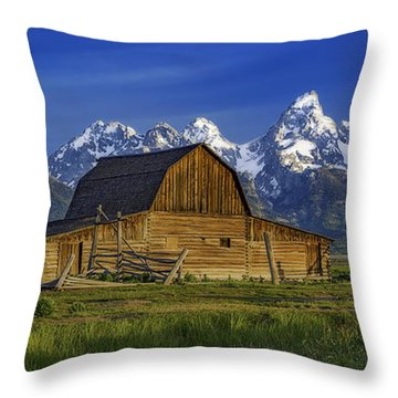 John Moulton Barn 2 Throw Pillow